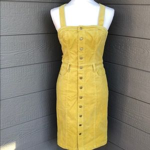 Honey Punch Corduroy Tank Dress